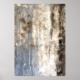 """Impresión neutral """"profunda"""" del poster del arte"""