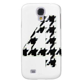 Impresión número cuatro de Houndstooth Funda Para Galaxy S4