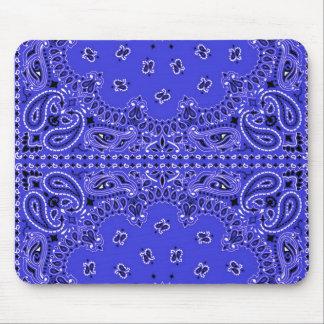 Impresión occidental de la bufanda del pañuelo de alfombrilla de raton