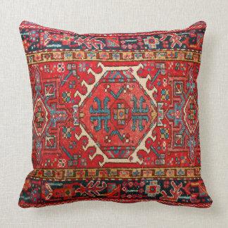 Impresión oriental antigua de la alfombra turca o cojines