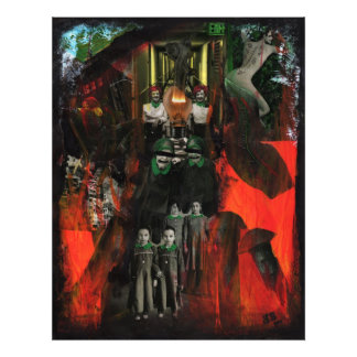Impresión original de la foto del arte de las técn
