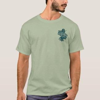 Impresión oscura de la camiseta del equipo del