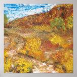 Impresión/paisaje de la bella arte poster