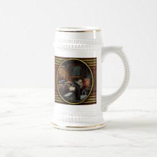 Impresión - pare las prensas jarra de cerveza