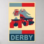 Impresión patriótica de la lona de Derby del arte  Posters