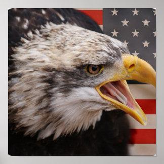 Impresión patriótica del poster de la imagen de Ea