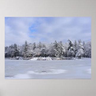 Impresión pegajosa del ~ de la nieve 34 impresiones