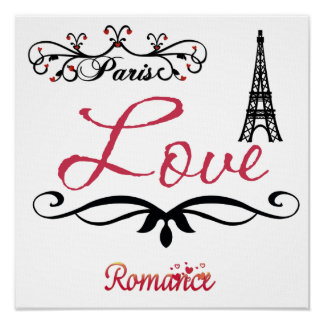 ¡Impresión personalizada de París! Póster