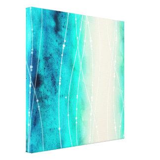 Impresión pintada hermosa de la lona del mar del impresion de lienzo