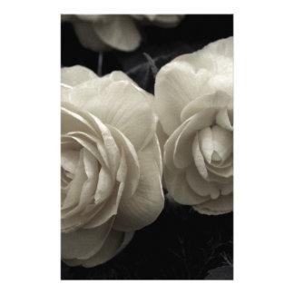 Impresión poner crema pálida imponente de los rosa papelería