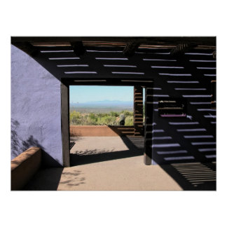 Impresión: Portal del desierto Póster