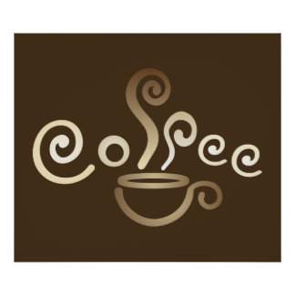 Impresión/poster de la taza de café póster