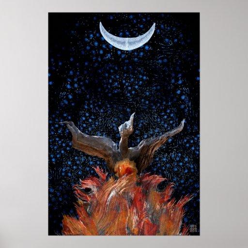 Impresión-Poster de levantamiento de Phoenix Póster