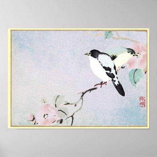 Impresión/poster de relajación de Birds~