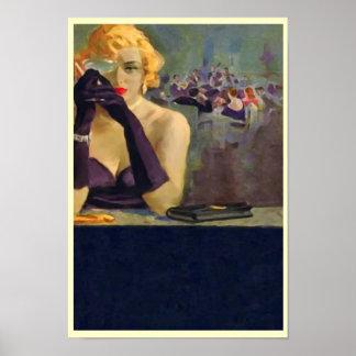 Impresión/poster del ~ de Femme Fatale Póster