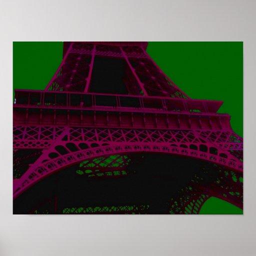 Impresión/poster del ~ de la torre Eiffel