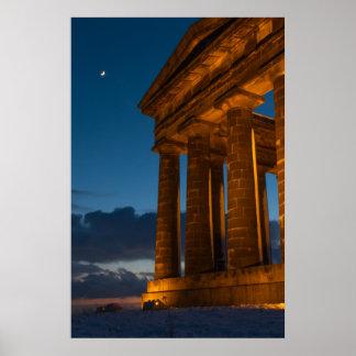 Impresión/poster del monumento de Penshaw Póster