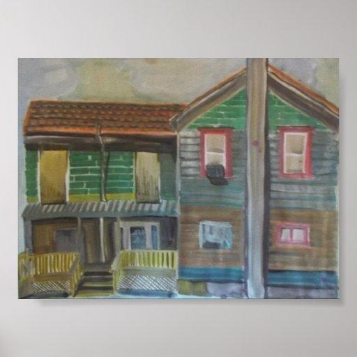 Impresión preferida de la casa póster