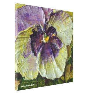 Impresión púrpura de la bella arte del abrigo de l lona envuelta para galerias