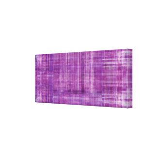 Impresión púrpura de la lona de pintura del color