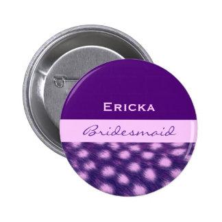 Impresión púrpura V13 del guepardo de la dama de h Pins