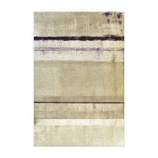 Impresión púrpura y beige de la lona de arte impresion en lona
