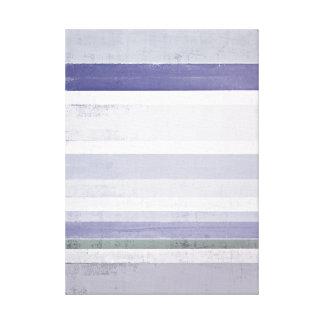 Impresión púrpura y gris de la lona de arte abstra impresión en lona estirada