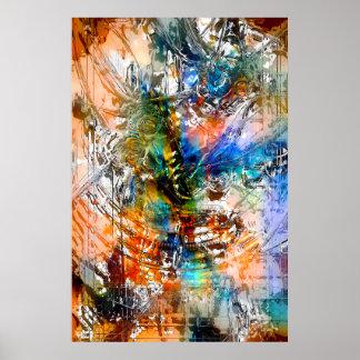Impresión radical del arte 4 impresiones