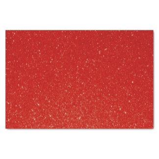 Impresión rojo oscuro suave del brillo papel de seda pequeño