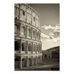 Impresión romana de Colosseum Foto
