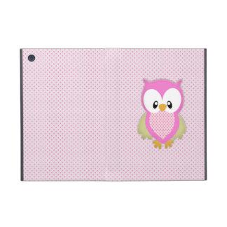 Impresión rosada de la imagen del modelo de los lu iPad mini cárcasa