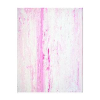 Impresión rosada de la lona de arte abstracto impresión en lona