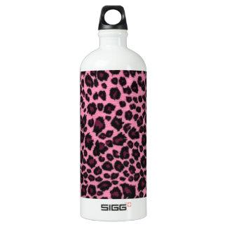 Impresión rosada femenina del guepardo del
