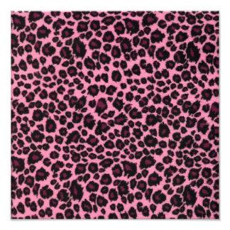 Impresión rosada femenina del guepardo del leopard cojinete
