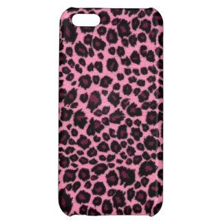 Impresión rosada femenina del guepardo del leopard