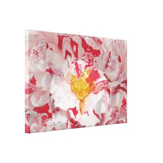 Impresión rosada pintada del arte abstracto de la  impresión de lienzo