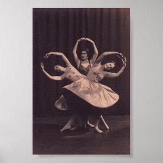 Impresión rusa del ballet impresiones