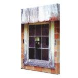 Impresión rústica del arte de la ventana del impresiones en lona estiradas