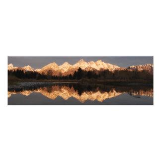 """Impresión @ """"ruta de la foto de las montañas del fotografía"""
