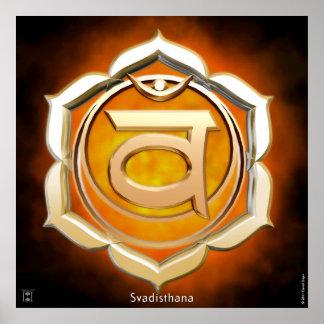 Impresión sacra de Chakra Impresiones