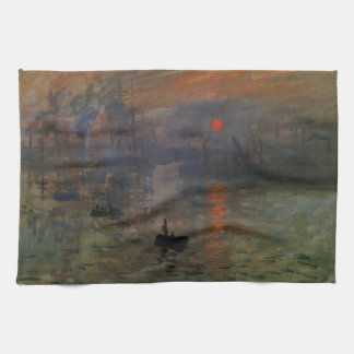 Impresión, salida del sol por impresionismo del toallas