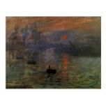 Impresión, salida del sol por impresionismo del postales