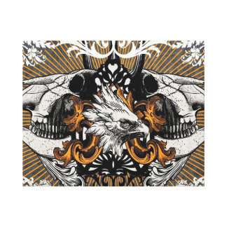 Impresión salvaje de la lona de Eagle Lona Envuelta Para Galerías