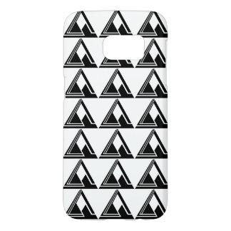 Impresión simple limpia del logotipo de N tri Funda Samsung Galaxy S7