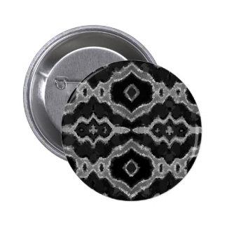 Impresión sobrepuesta del extracto de Black&White Pin Redondo De 2 Pulgadas