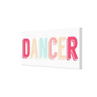 Impresión soñadora de la lona del bailarín impresión en lienzo estirada