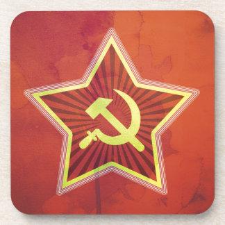 Impresión soviética posavasos de bebidas
