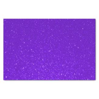 Impresión suavemente púrpura del brillo papel de seda pequeño