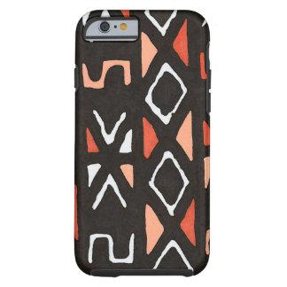 Impresión tribal de Mudcloth del africano Funda Resistente iPhone 6