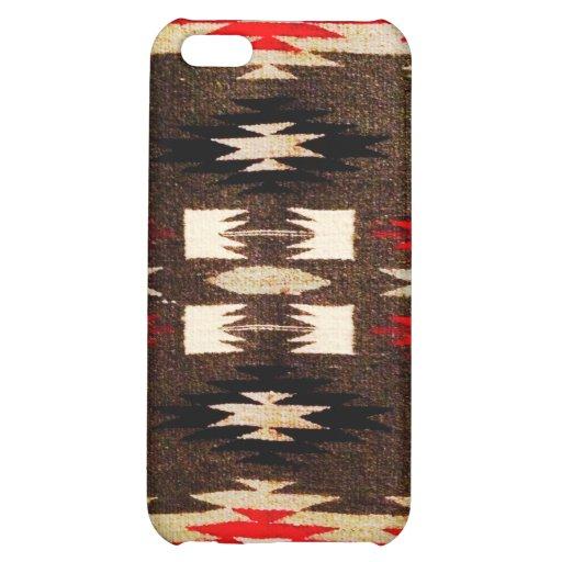 Impresión tribal del diseño de Navajo del nativo a